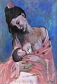 Picasso Mère enfant conference jean godebski